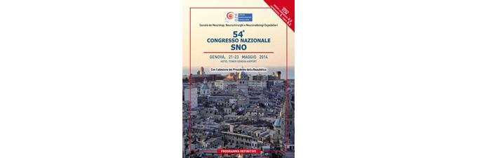 54° CONGRESSO NAZIONALE SNO