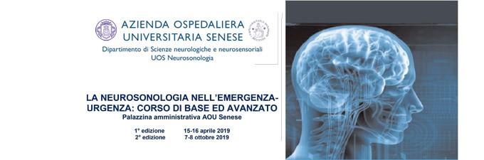 La Neurosonologia Nell'emergenza Urgenza: Corso Di Base Ed Avanzato